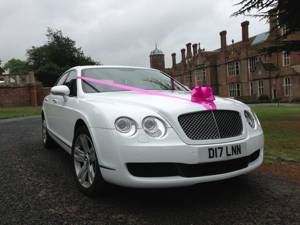Bentley Continental Flying Spur Wedding Car