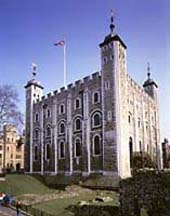 The Whitew Tower - the original Tower of London Building. Now this is in the centre of the Tower of London and contaiins the Crowns Jewels, including the worlds biggest Diamond.