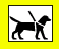 We accept Guide & Hearing Dogs Only