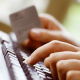 Pay by credit card online